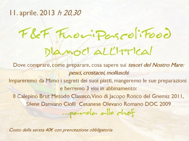 f&f Diamoci all'ittica