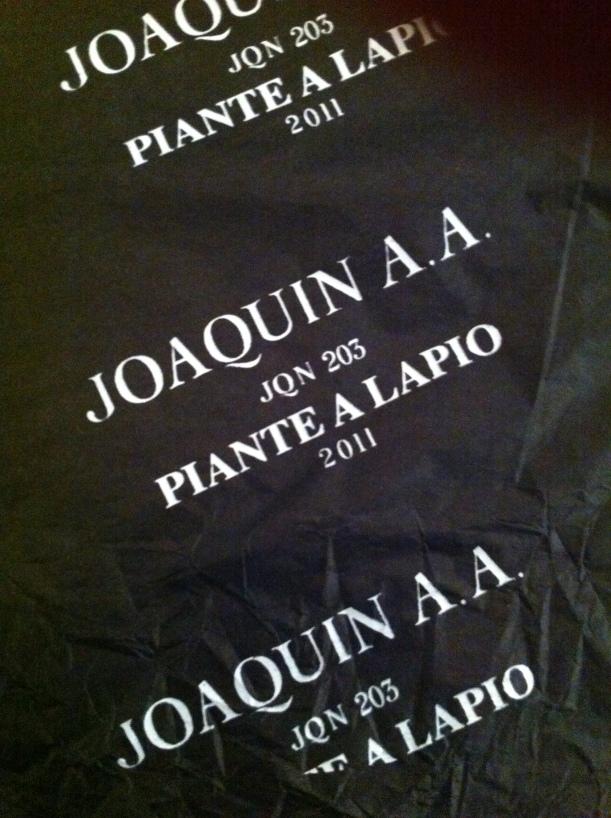 Piante a Lapio 2009 Joaquin